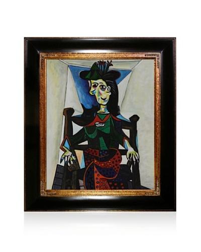 Pablo Picasso Dora Maar Framed Oil Painting, 20 x 24