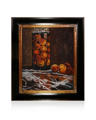 Claude Monet Jar of Peaches Framed Oil Painting, 20 x 24