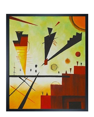 Kandinsky - Structure Joyeuse (Merry Structure)