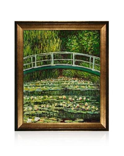 Claude Monet The Japanese Bridge Framed Oil Painting,  20 x 24