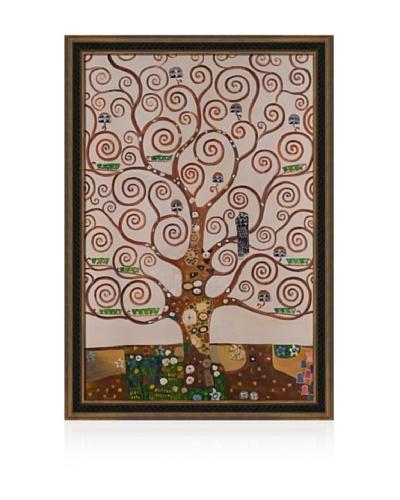 Gustav Klimt Tree of Life Framed Oil Painting