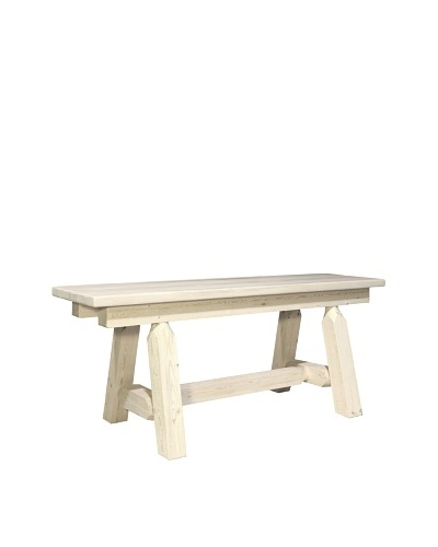 Montana Woodworks Homestead 45 Plank Style Bench