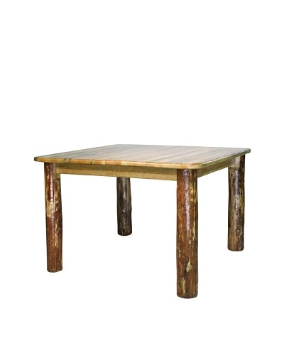 Montana Woodworks Glacier Country 4-Post Dining Table