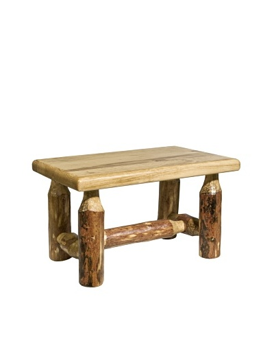 Montana Woodworks Glacier Country Footstool