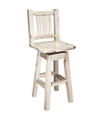 Montana Woodworks Homestead Swivel Bar Stool