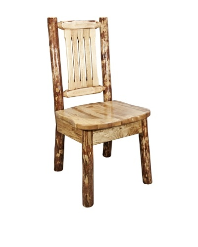 Montana Woodworks Glacier Country Dining/Desk Side Chair