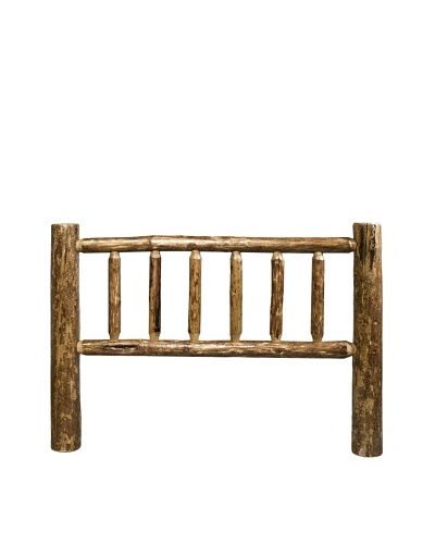 Montana Woodworks Glacier Country Log Queen Headboard