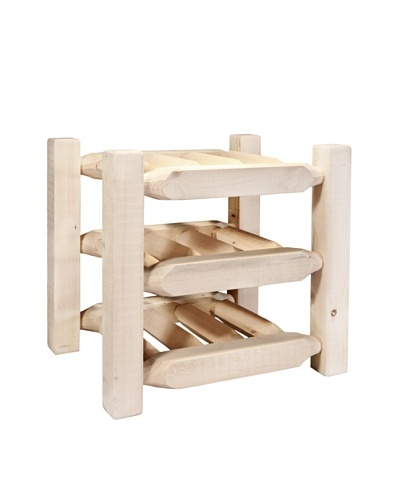 Montana Woodworks Homestead Countertop Wine Rack