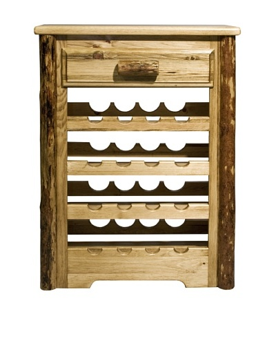 Montana Woodworks Glacier Country Wine Cabinet