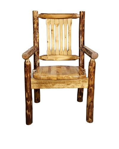 Montana Woodworks Glacier Country Captain's Chair