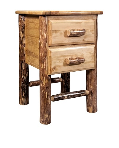 Montana Woodworks Glacier Country 2-Drawer Night Stand