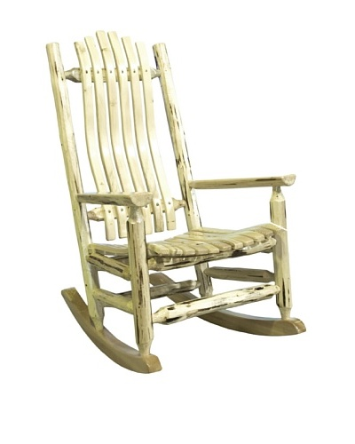 Montana Woodworks Montana Collection Log Rocker