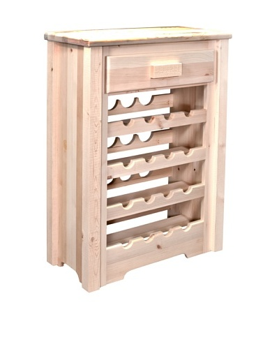 Montana Woodworks Homestead Collection Wine Cabinet
