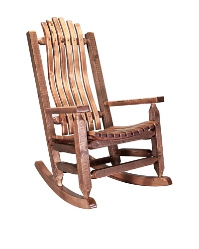 Montana Woodworks Homestead Stained & Lacquered Rocker