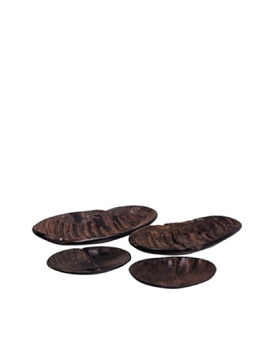 Moo-Moo Designs Water Buffalo Horn Soap Dish, Dark Natural