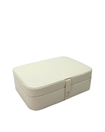Morelle & Co. Kimberly Versatile Jewelry Box, Cream
