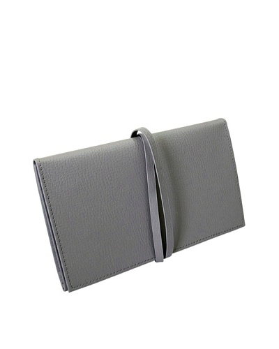 Morelle & Co. Audrey Leather Jewelry Envelope, Paloma Grey