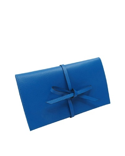 Morelle & Co. Fine Leather Travel Jewelry Envelope, Monaco BlueAs You See