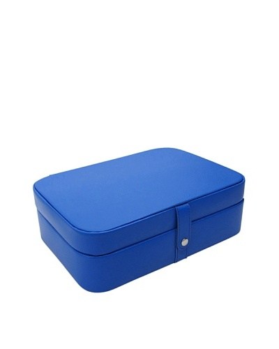 Morelle & Co. Kimberly Versatile Jewelry Box, Dazzling Blue