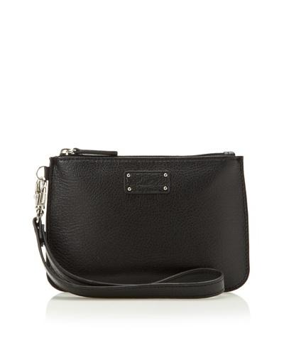 Morelle & Co. Leather Wristlet, Black