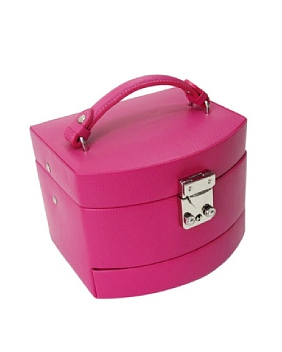 Morelle & Co. Laura Expandable Jewelry Box, Raspberry