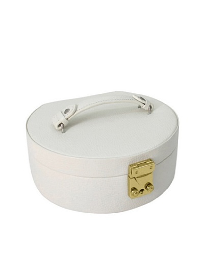 Morelle & Co. Linda Half Moon Jewelry Box [Cream]