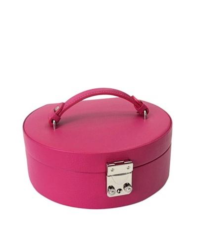 Morelle & Co. Linda Half Moon Jewelry Box, Raspberry