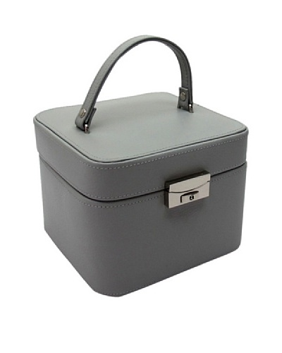 Morelle & Co. Emma Small Leather Jewelry Box, Paloma Grey