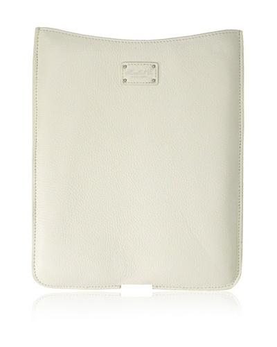 Morelle & Co. Leather iPad Sleeve, Cream
