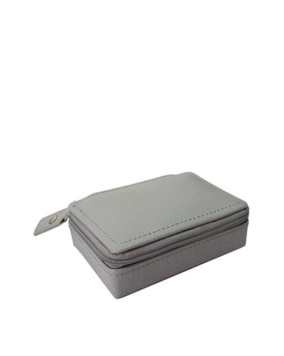 Morelle & Co. Vicky Zippered Jewelry Case, Paloma Grey