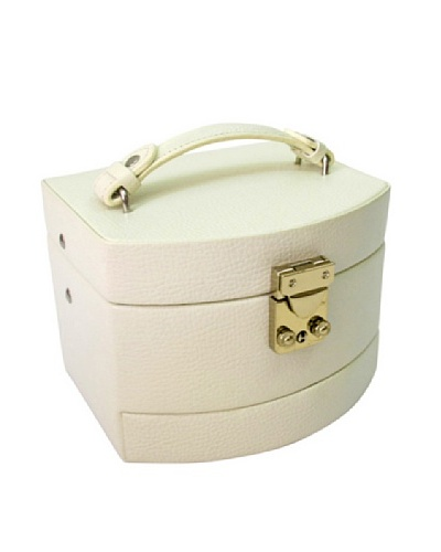 Morelle & Co. Laura Expandable Jewelry Box, Cream