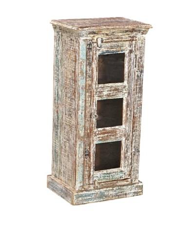 Moti Mezzanine 38 Small Cabinet, White/Multi
