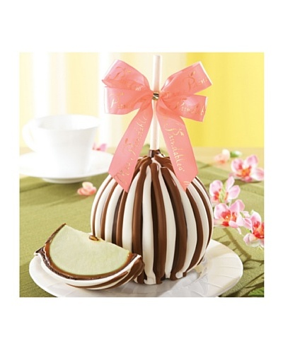Mrs. Prindable's Triple Chocolate Jumbo Apple, Pink Ribbon