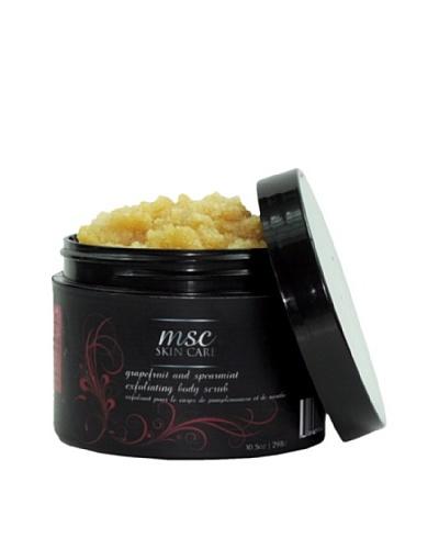 MSC Skin Care and Home 10.5-Oz. Handmade Exfoliating Sugar Body Scrub, Grapefruit/Spearmint