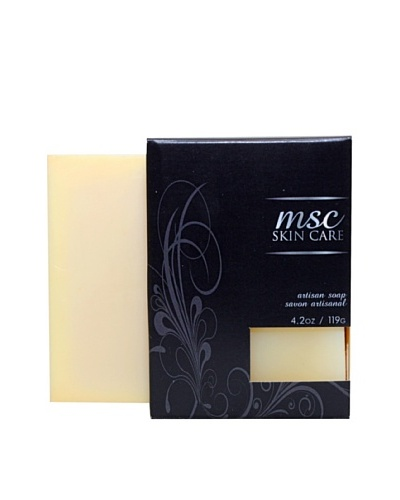 MSC Skin Care and Home 4.2-Oz. Handmade Artisan Soap with Shea Butter, Aloe/Chamomile/Lavender