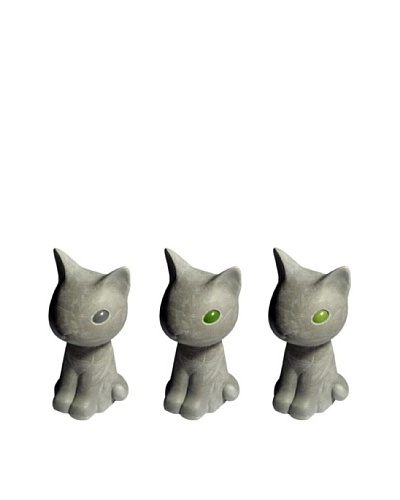 MU Design Co. Concrete Kitty Figure