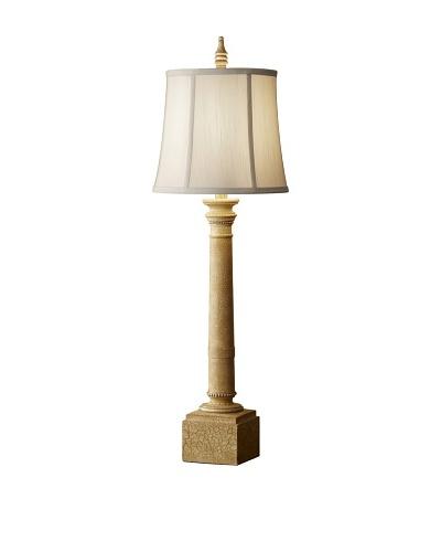 Feiss Lighting Porter Table Lamp [Ivory Crackle]