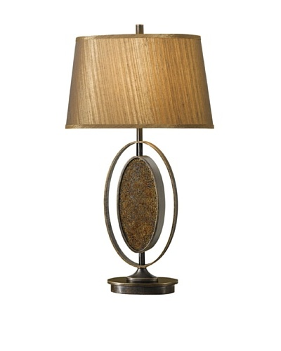 Feiss Lighting Independents Collection Table Lamp, Gilded Bronze