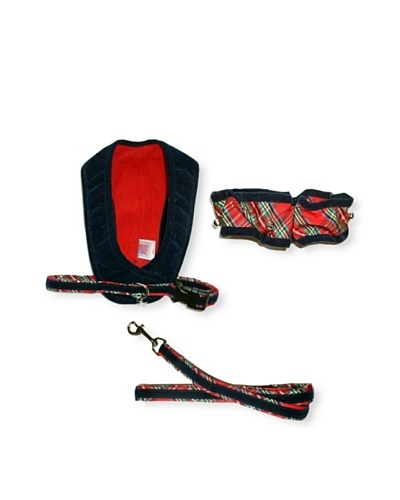 My Canine Kids Walk Fit Harness, Neck Scrunchie & Lead Gift Set