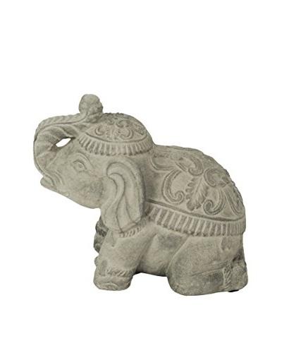 My Spirit Garden Volcanic Ash Royal Elephant Statue
