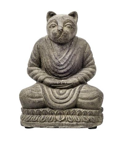 My Spirit Garden Volcanic Ash Meditating Cat