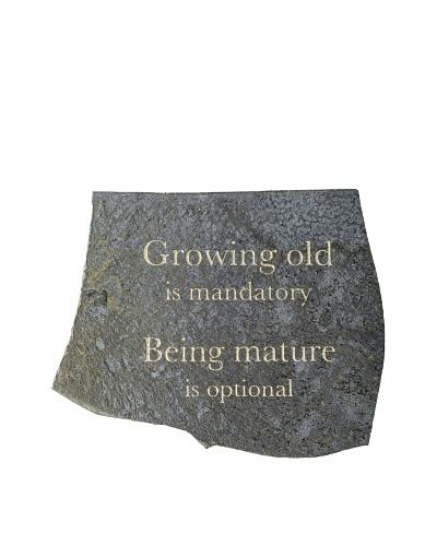 My Spirit Garden Volcanic Slate Growing Old Is ...