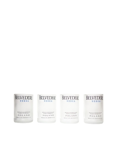 Set of 4 Belvedere Rocks Glasses