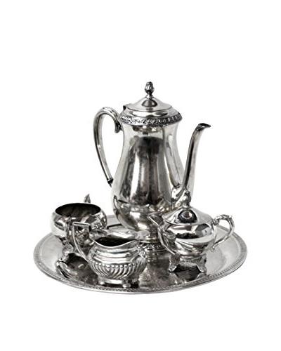 1940s Vintage Silver 5-Piece Towle Coffee/Tea Service Set