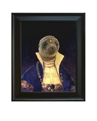 Princess Pinniped of the Caspian Sea Framed Giclée Print