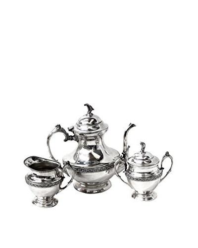 1960s Silver 3-Piece Tea Set