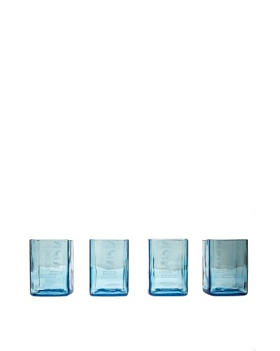 Set of 4 Bombay Sapphire Gin Rocks Glasses