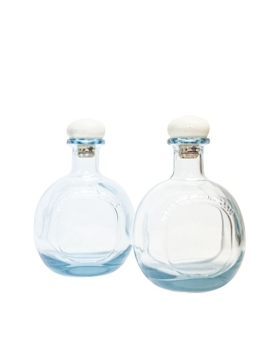 Set of 2 Don Julio Blanco Tequila Bottles with Corks