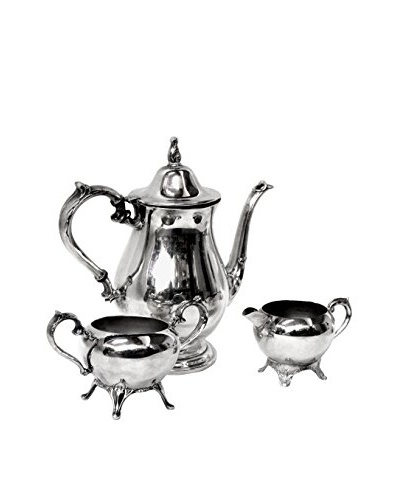 1940s Vintage 3-Piece Tea/Coffee Set By 1883 F.B Rogers Silver Co.