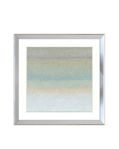 Reflective Framed Neutral Lines Print III